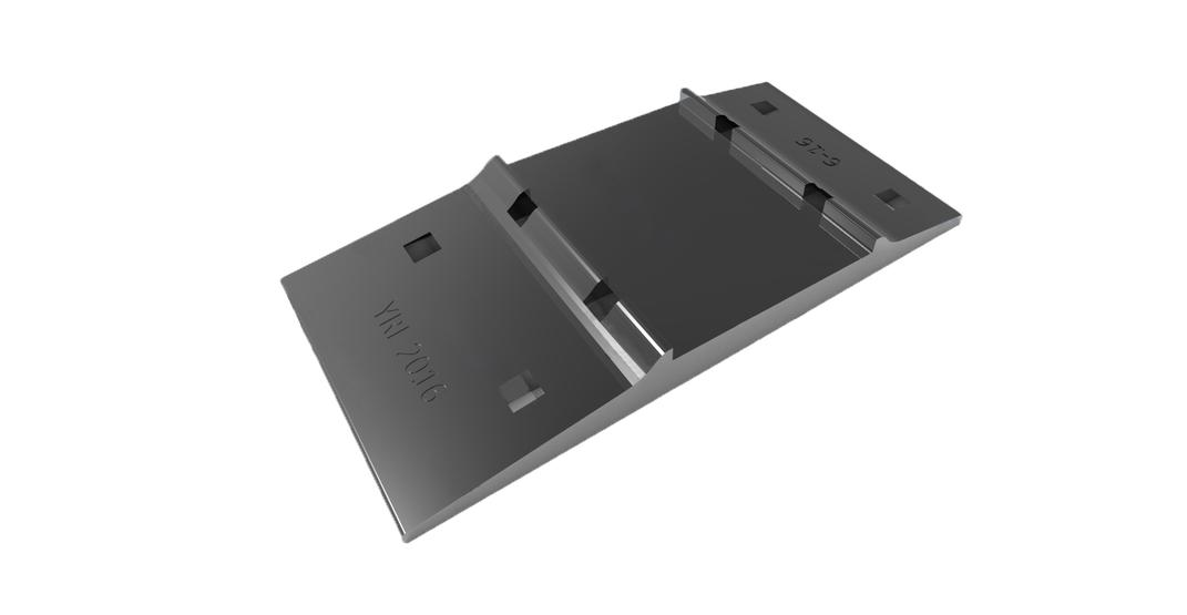 AREMA-No-21-16-Tie-Plate-for-6-Base-Width