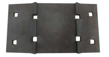 AREMA No.13 14-3-4 Tie Plate for 6″ Base Width